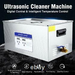 NEW Ultrasonic Cleaner Professional Lab Ultrasonic Cleaner Stainless Steel 22L