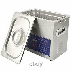 PS20A 3.2L Ultrasonic Cleaner with Heater Timer 304 Stainless Steel Ultrason