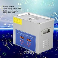 Professional 15L Digital Ultrasonic Cleaner Timer Stainless Steel Cotainer UK