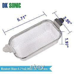 Professional DK SONIC 800ML Cleaner Ultrasonic Of Stainless Steel 42,000 Hz