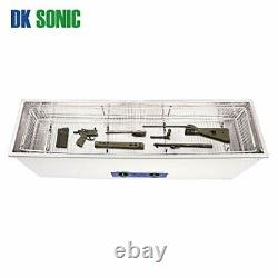 Professional Large 30L Ultrasonic Gun Cleaner with Timer Basket and Stainless
