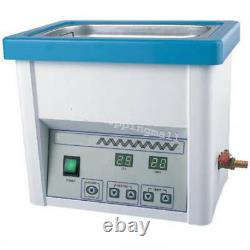 Professional Ultrasonic Cleaner 5L Stainless Steel Industry Heated Clean Glasses