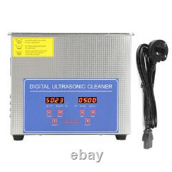 Professional Ultrasonic Cleaner Digital Stainless Steel Bath Cleaner Heater 15L