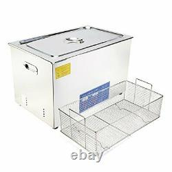 (R) Commercial Grade Digital Ultrasonic Cleaner Stainless Steel 30L-7.9GAL