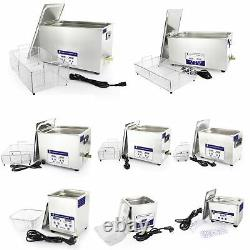 Skymen Stainless Industry Ultrasonic Cleaner Dental Tank Digital Control Heater