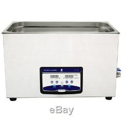 Skymen Stainless Industry Ultrasonic Cleaner Jewelry Necklaces Watch JP-100S 30L