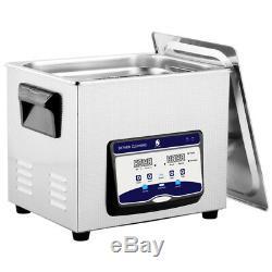 Skymen Stainless Industry Ultrasonic Cleaner Jewelry Tableware Watch JP-040S 10L