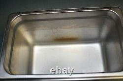 Sonicor Stainless Steel Ultrasonic Cleaner withHeat & Timer 1 Gal, S-101TH (used)