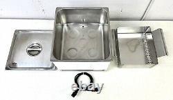 Sonix IV SE236 Ultrasonic Cleaner Stainless Steel Tabletop Bath