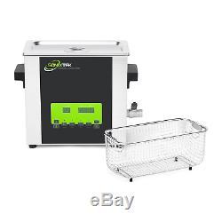 Sonixtek SD Series 6L Digital Ultrasonic Cleaner Cleaning Stainless Steel Timer