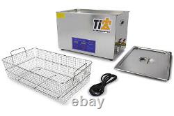 Tip8582 Ultrasonic Cleaner With 19In Stainless Basket
