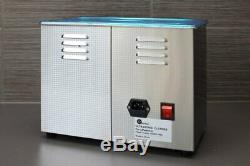 Ultrasonic Cleaner 4.5L Stainless Steel Industry Standard with Timer and Heater