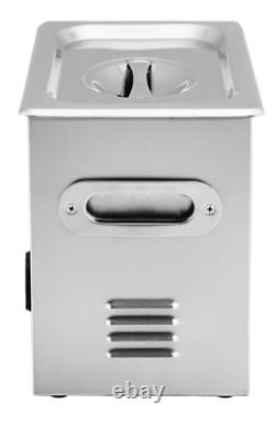 Ultrasonic Cleaner JPS-20A 3.2L Stainless Steel LCD with Basket & Power Cord