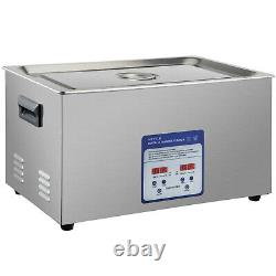 VEVOR 22L Stainless Steel Ultrasonic Cleaner Cleaning Machine Digital Control