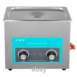VEVOR 6L Ultrasonic Cleaner Stainless Steel Industry Heated Heater withTimer