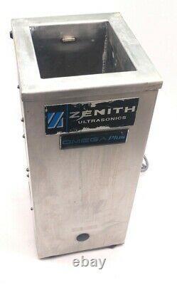 Zenith T5X6X12 & G1-40-Rev3 Industrial Ultrasonic Cleaner & Power Supply